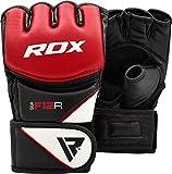 RDX Maya Cuero MMA UFC Guantes Lucha Libre Sparring Artes Marciales Guantillas Entrenamiento Grappling