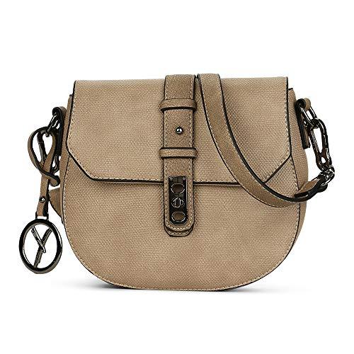 Suri Frey Damen Umhängetasche Kitty 11760 Crossbody Bag Sand (beige) - Kitty Shopper Tasche