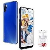 Smartphone Offerte Cellulari 4G con Auricolare Bluetooth, 6.53 pollici 3GB+32GB/ 128GB Espandibili Offerte Cellulari 13MP+5MP 4500mAh Dual SIM Quad-Core Telefonia Mobile 2019
