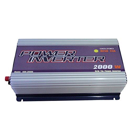2000W Solar Grid Tie Wechselrichter Solar Panel DC 45V-90V AC 230V Konverter -