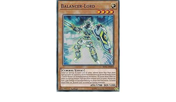 SDCL-DE005 Balancer-Lord Auflage 1 Yu-Gi-Oh Common LMS Trading Deutsch