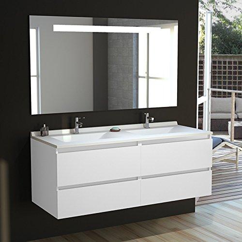 Meuble salle bain Ensemble vasque miroir