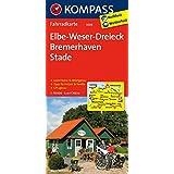Elbe-Weser-Dreieck - Bremerhaven - Stade: Fahrradkarte. GPS-genau. 1:70000 (KOMPASS-Fahrradkarten Deutschland, Band 3006)