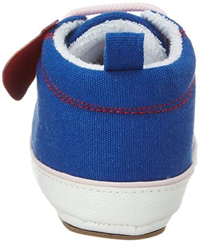 Sterntaler Baby-schuh, Chaussons pour enfant bébé fille Blau (Blau)