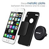 Car Mount, Mpow Grip Magic Mobile Phone Cradle Air Vent Magnetic Phone Holder Universal Car Mount for iPhone 7/6/6 Plus/5 Nexus 7 Huawei P9 LG Sony Samsung S6/S5 Note 5/4/3 and other Andriod Cellphones(Black) Bild 1