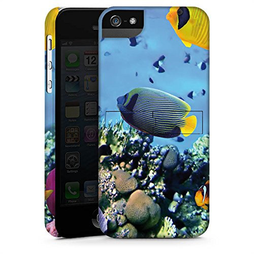 Apple iPhone 4 Housse Étui Silicone Coque Protection Sous-marin Poissons Tortue CasStandup blanc