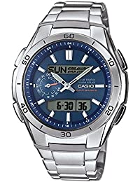 Casio Wave Ceptor Herrenuhr Analog/Digital Quarz mit Massives Edelstahlarmband – WVA-M650D-2AER