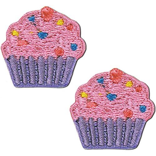 Blumenthal Lansing Bügelbild Appliques-Cupcake W/Beads 1/Pkg -