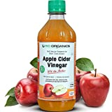 #1: Sid Organics Apple Cider Vinegar ACV with mother culture - Cold pressed, Raw, Unfiltered, Unpasteurized & Unflavored 500ML