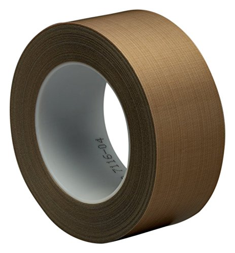 3M 7000050131 Glasgewebeklebeband, 5453, 25,4 mm x 33 m, 0,22 mm, Braun/Transparent (9-er Pack)
