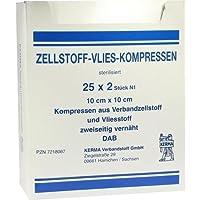 ZELLSTOFF VLIES KOMPRESSEN 10x20 cm steril 50 St Kompressen preisvergleich bei billige-tabletten.eu