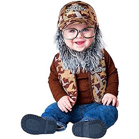 Dynastie De Duck Duck Costume - Duck Dynasty: Uncle Si Toddler Costume -