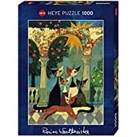 Heye VD-29720 Puzzle Wachtmeister Famiglia di Gatti, 1000 Pezzi