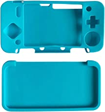 Segolike Split Type Silicone Protective Cover for Nintendo 2DSLL/2DSXL Dustproof Blue