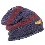 #8: FabSeasons Woolen Winter Beanie Cap with Faux Fur Lining on the inside