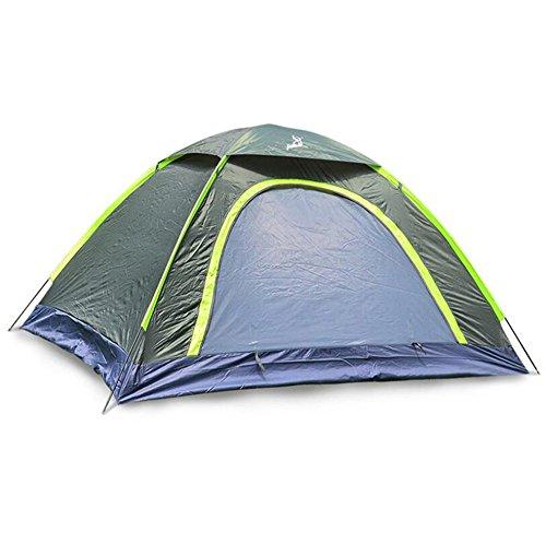 Camping Zelt Für 2 Personen Individuelle Camping Zelt Outdoor-Falt Zelt Feuchtigkeitsfest/Feuchtigkeitsdichten Tragbaren Wasserdicht Für Wandern,Green