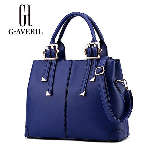 G-AVERIL, Borsa a secchiello donna blu navy Navy Blue Navy Blue