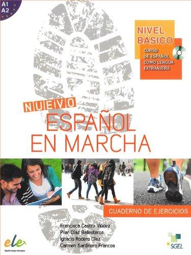 Nuevo Español en marcha Básico ejercicios + CD por Francisca Castro Viúdez