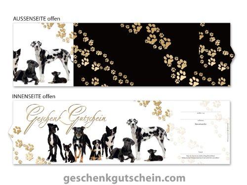 50 Stk. Premium Booklet Gutscheine für Zoofachhandel, Hundesalons, Tierärzte ZH701, LIEFERZEIT 2 bis 4 Werktage !