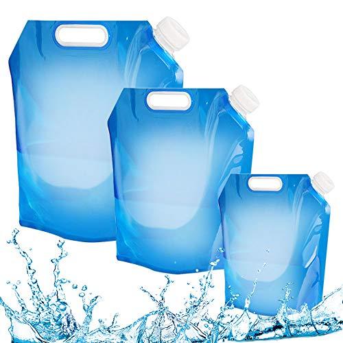 Golrisen Bolsa Agua Plegable Al Aire Libre Recipiente