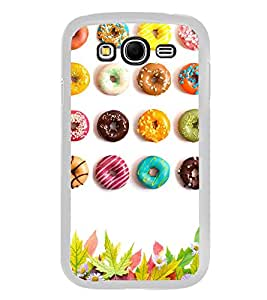 Colourful Doughnuts 2D Hard Polycarbonate Designer Back Case Cover for Samsung Galaxy Grand 2 :: Samsung Galaxy Grand 2 G7105 :: Samsung Galaxy Grand 2 G7102