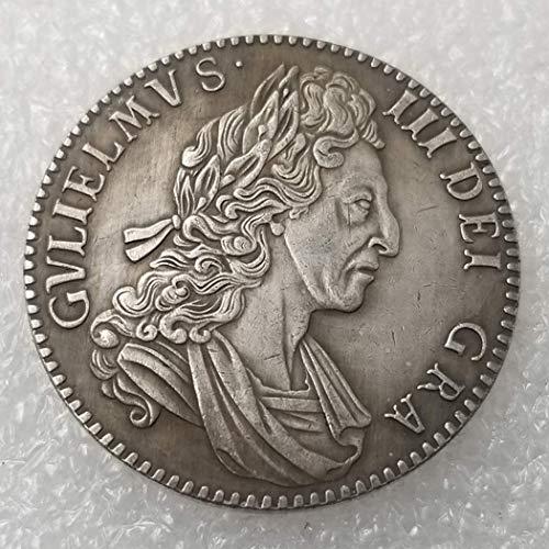 DDTing 1700 UK Silver Dollars - British Old Silver Coin Old UK Coin Collecting - British Silver Shilling Old Coin - Unzirkuliert/Sammlerstück Zustand goodService (1700 Dollar)