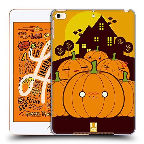 Head Case Designs Kürbis Im Ganzen Halloween Kawaii Harte Rueckseiten Huelle kompatibel mit iPad Mini (2019)