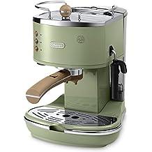DeLonghi ECOV 311.GR - Cafetera automática, 1100 W, 1,4 l, color verde