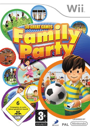 Family Party (Wii) (Sammlung-media-konsole)