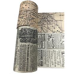Juego de cinta adhesiva decorativa para paredes