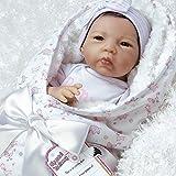 Paradise Galleries Mädchen Neugeborenes realistisch Baby von Flex Touch 48cm Geschenk Born to be Spoiled Gut zu Reborn
