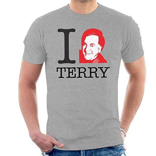 I Heart Terry Wogan Men's T-Shirt Heather Grey