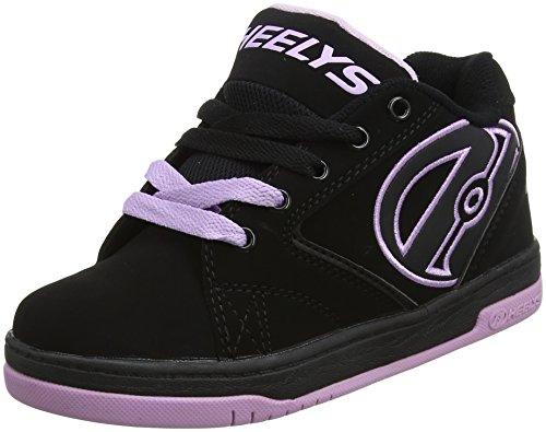 Heelys Propel 2.0 770603, Jungen Lauflernschuhe Sneakers, Mehrfarbig - Multi (Black/Reggae) - Größe: 38 EU (Größen Kinder Heelys)