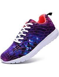 MaylenHughes Zapatillas Deportivas Unisex Transpirables Calzado Casual de Deportes Fitness y Aire Libre