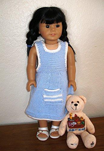 Amy's Jumper: Doll knitting pattern (English Edition) (American Girl Doll Jumper)