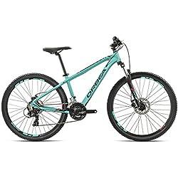 Orbea MX26 Dirt - Bicicleta de montaña juvenil, aqua-rot