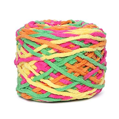 Chunky Garn gewebt klobigen Crochet Wolle Cashmere worested 1Ball/175g weich Baumwolle Hand Strickgarn