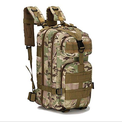 Zaino tattico, zaino militare multifunzione per outdoor trekking campeggio escursionismo caccia–�?0l, jungle python lines CP camouflage