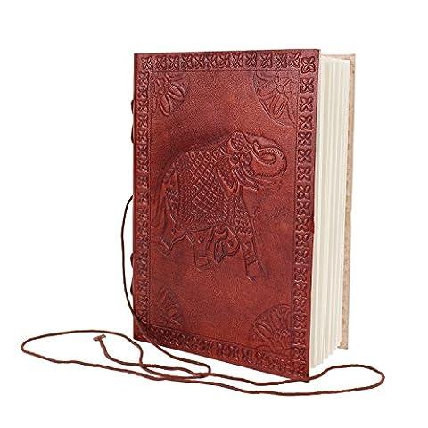 Zap Impex ® Blank Leder Journal Tagebuch (7 x 5