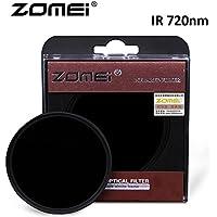 Flycoo Zomei - Filtros infrarrojo IR 720nm de vidrio óptico para Canon Nikon Sony Panasonic Fujifilm Kodak cámara DSLR Cámara 25mm–105mm