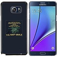 Stuss Case / Funda Carcasa protectora - Affiche Army War U est bleu - Samsung Galaxy Note 5 5th N9200