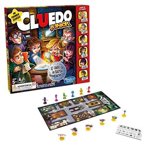 Hasbro Gaming - Cluedo Junior, Juegos de Mesa versión española, (Hasbro C1293105)