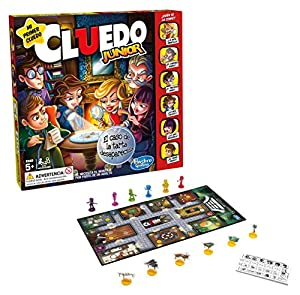 Hasbro Gaming - Cluedo Junior, juegos de mesa versión española, multicolor (Hasbro C1293105)