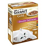 Gourmet Gold double Delicacies Multi-Pack 12 x 85 g