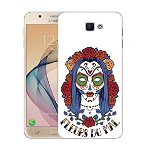 Snoogg Sacry Women Designer Protective Back Case Cover For SAMSUNG GALAXY ON NXT / J7 PRIME