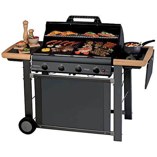 Campingaz Barbecue a Gas Adelaide 4 Classic Deluxe Extra, Nero