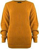 Baggy Jumper Top Mustard M/L (12-14)