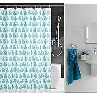 GYMNLJY Cartoon anatra stampa impermeabile tenda doccia Inodore ispessimento tagliato tenda Hanging Invia il gancio , 200*180cm