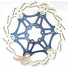 Bicicleta de freno de disco de 180 mm de ratón para el flotador MTB DH Moutain Bike freno de disco flotante rotores de 180 mm de piezas de bicicleta Ciclismo Accesorios