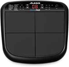 Alesis PercPad Kompaktes PercussionInstrument mit vier Anschlagdynamische Pads